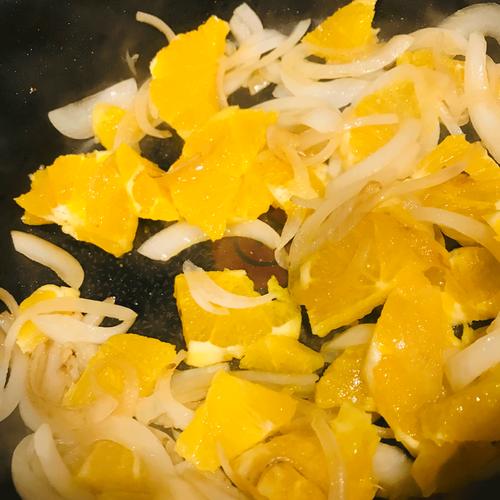 豚肉オレンジソース2