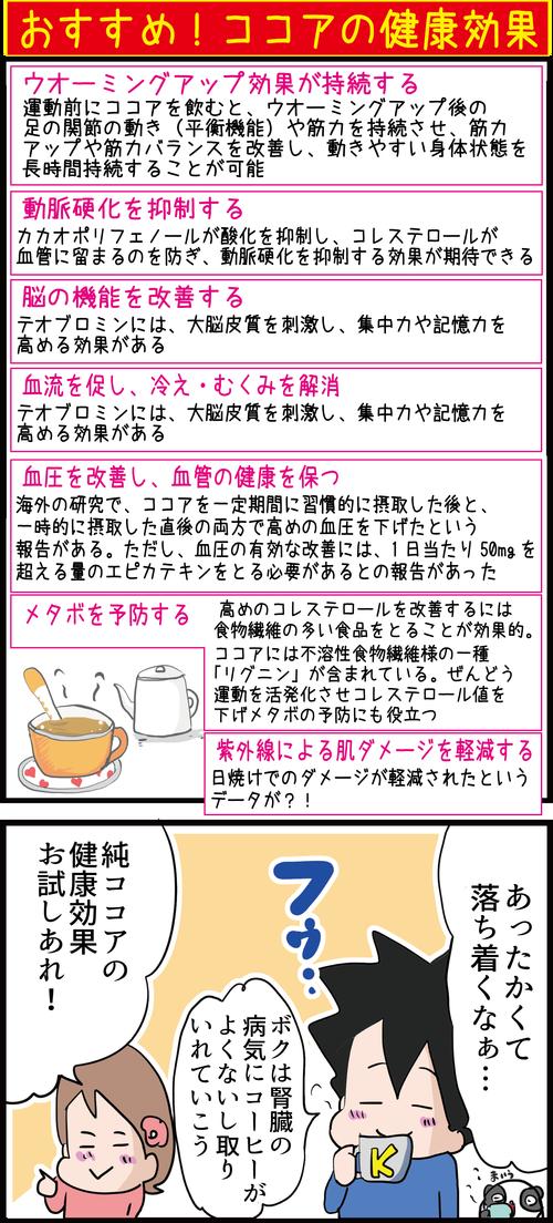 コーヒーより健康的!?血糖値も気にせず飲めるココアの正しい飲み方とは…?4