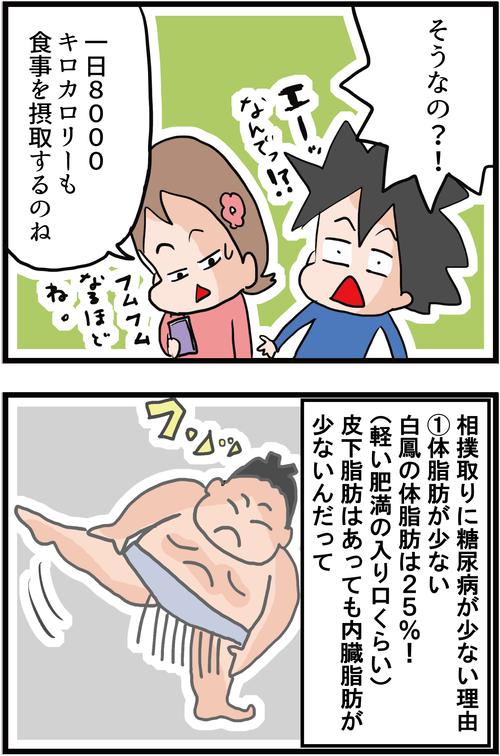 【血糖値】意外な事実!相撲取りに糖尿病が少ない理由とは・・?!2