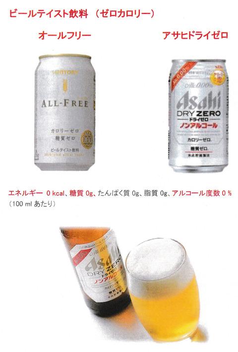 ビールテイスト飲料(ゼロカロリー)
