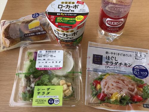 昼食(ローソン)