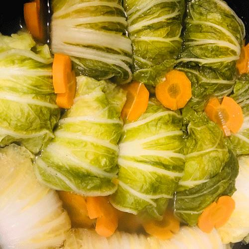 コンソメロール白菜10