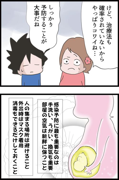【妊娠7カ月】新型コロナウイルスの妊婦への影響は…(妻の高齢妊娠編㊹)3