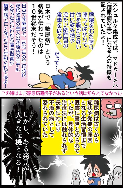 【血糖値との戦い】日本で最初に糖尿病になった人って誰?!3
