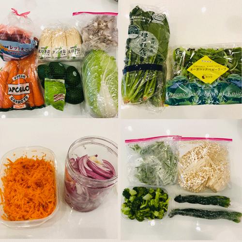 コストコ野菜とつくおき