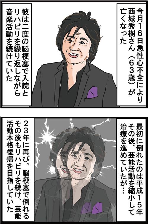 【高血糖】西城秀樹さんの脳梗塞は糖尿病のせいだった…!?1