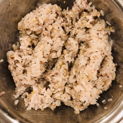 雑穀米すし飯