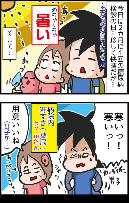 【血糖値】2カ月ぶりの検診結果&カワユス女医に質問攻撃!1