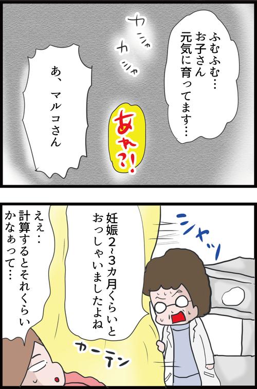 【妊娠4カ月】初めての妊婦検診!医師に言われた衝撃の事実…!(妻の高齢妊娠編18)3