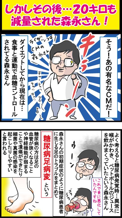 【血糖値】あわや足切断!?森永卓郎さんも危なかった糖尿病足病変の兆候とは…?3
