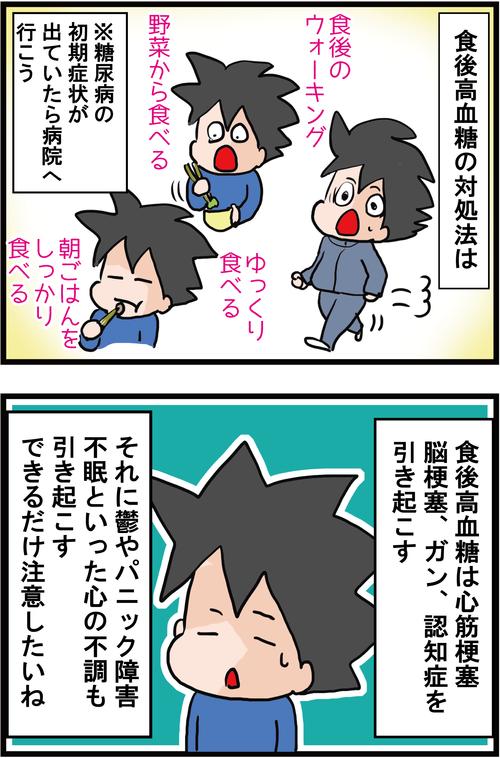 【血糖値スパイク】隠れ糖尿病に要注意!!4