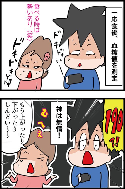 【血糖値】引っ越し作業で夫の血糖値が乱高下!!4