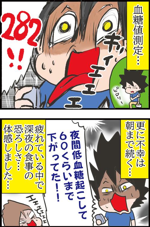 【悲劇】夫、久々のチートデイで血糖値が大爆死してしまう…!4