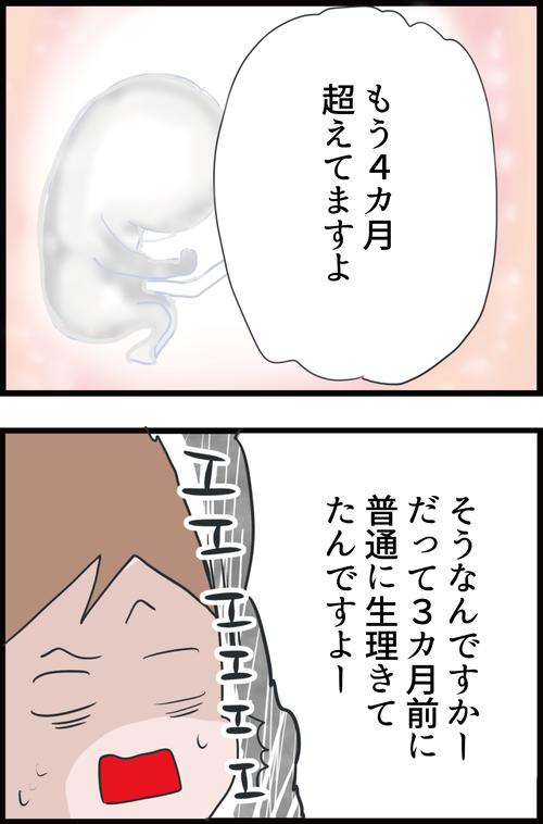 【妊娠4カ月】初めての妊婦検診!医師に言われた衝撃の事実…!(妻の高齢妊娠編18)4