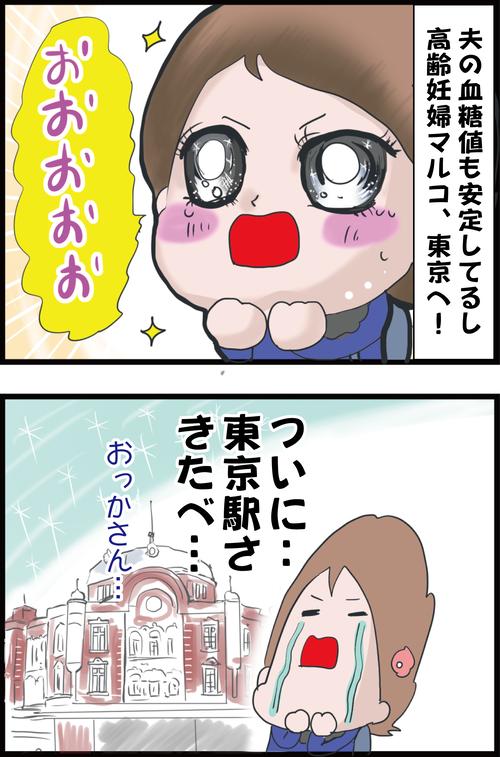 【妊娠3カ月】高齢妊婦、苦難を乗り越え、上京を果たすも早速ピンチ…!?(妻の高齢妊娠編⑬)1