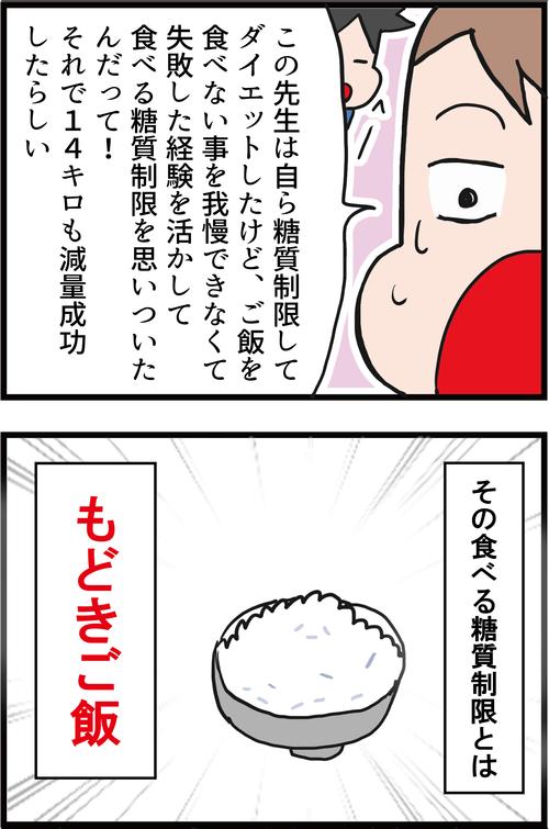 【高血糖対策】ガッツリ食べて楽に糖質制限ダイエット!3