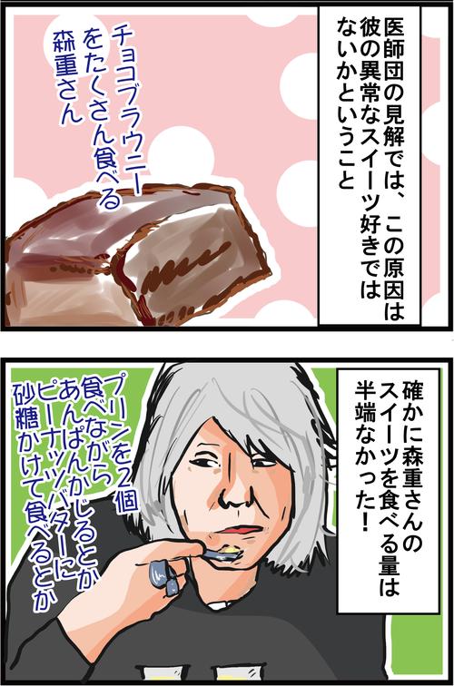 【血糖値スパイク】ジギー(Vo)森重樹一さん、重度の○○中毒だった…3