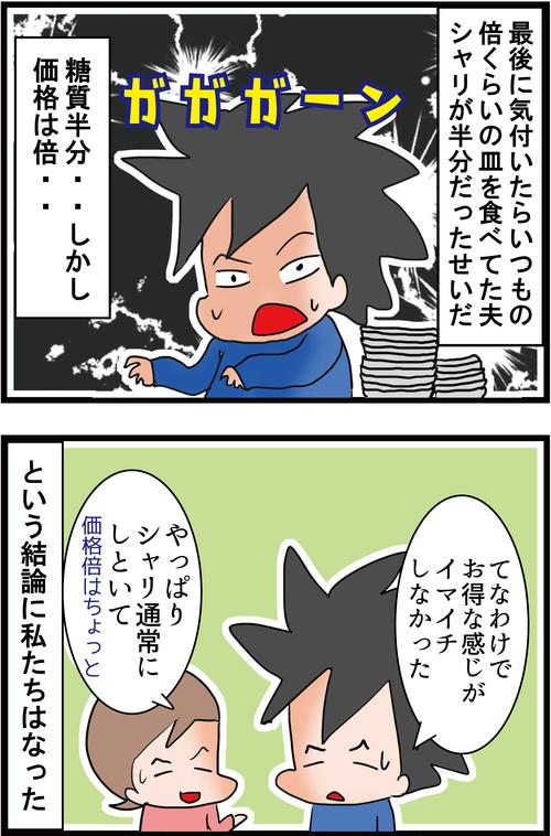 【くら寿司】糖質オフ寿司に潜んだ罠2