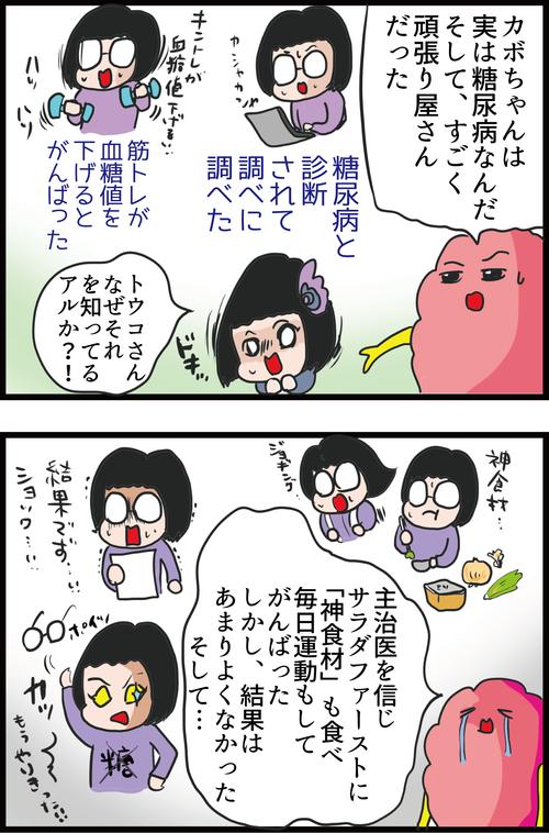 【血糖値】糖尿病夫、最大のライバル現る…!?4