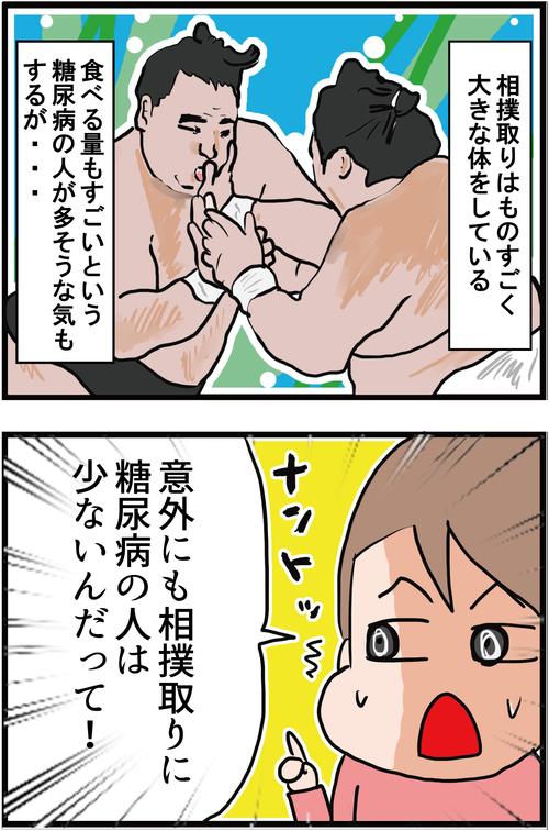 【血糖値】意外な事実!相撲取りに糖尿病が少ない理由とは・・?!1