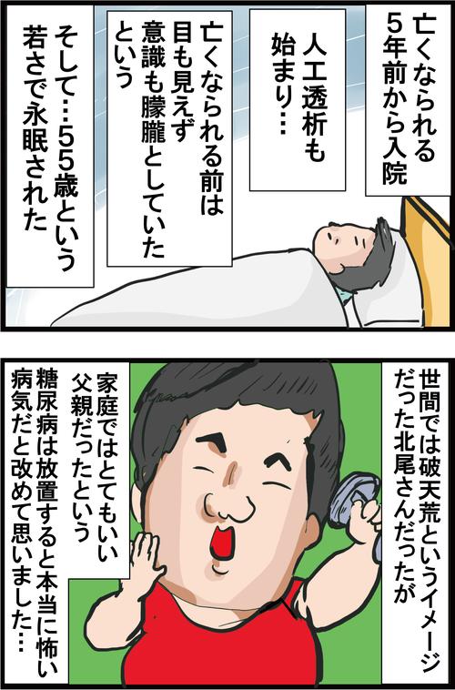【血糖値】糖尿病だった「元横綱・双羽黒」こと北尾光司さんの壮絶な最期…4