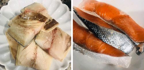 鯖鮭切り身