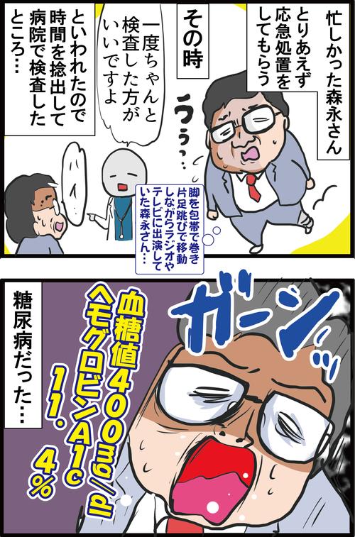 【血糖値】あわや足切断!?森永卓郎さんも危なかった糖尿病足病変の兆候とは…?2