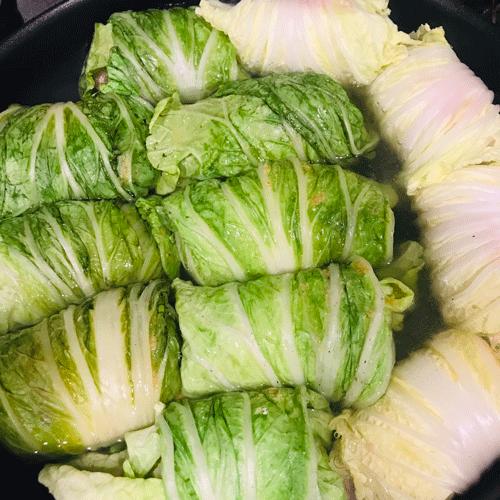 コンソメロール白菜8