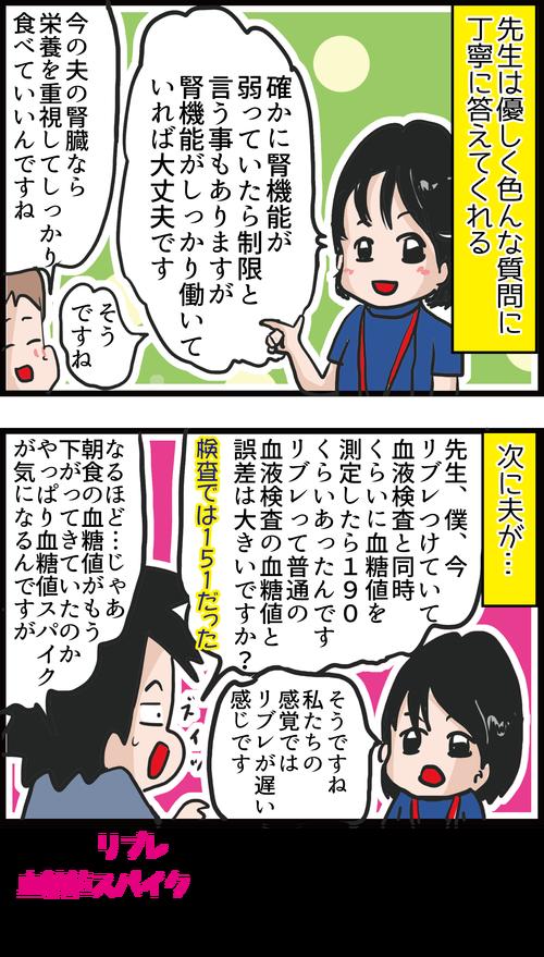 【血糖値】2カ月ぶりの検診結果&カワユス女医に質問攻撃!4