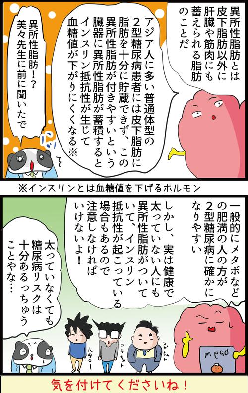 【血糖値】日本人は特に注意!痩せていても糖尿病になってしまう理由とは…?4