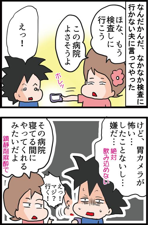 【初挑戦】最近の胃カメラは苦しくない!?夫の胃のポリープを調べてきた!2