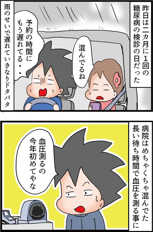 """2カ月に1回の糖尿病検診(その1)~""""念""""を使う男~1"""