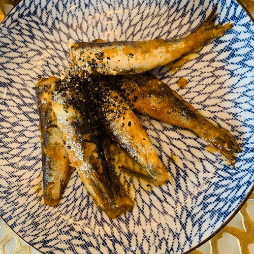 煮干し生姜煮