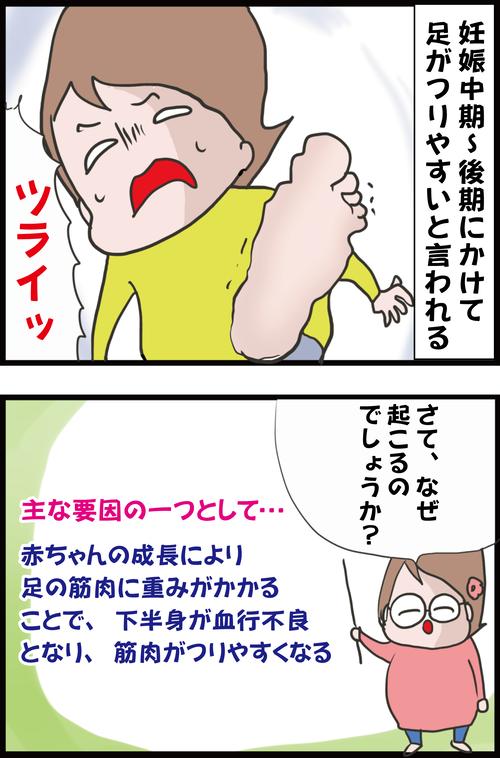 【妊娠7カ月】スヤスヤ眠る朝方に突然やってくる「激痛」とは…?(妻の高齢妊娠編㊶)3