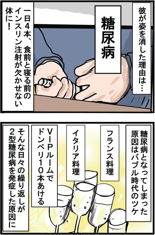 【血糖値コントロール術】バブルのツケで糖尿病になったちょいワルオヤジ!2