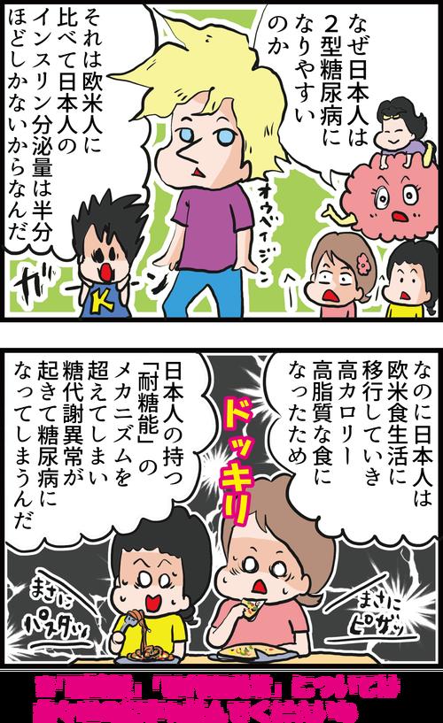 【血糖値】日本人は欧米人より2型糖尿病になりやすいってほんと?3