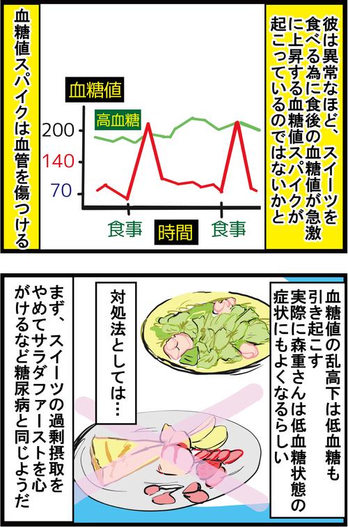 【血糖値スパイク】ジギー(Vo)森重樹一さん、重度の○○中毒だった…4