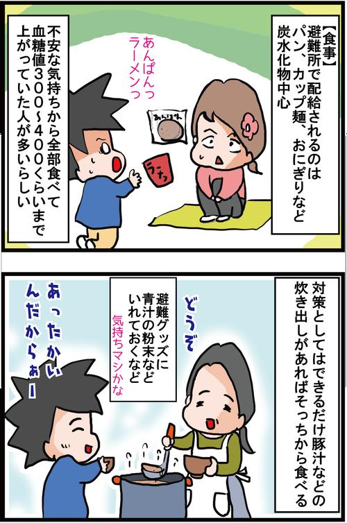 【血糖値対策】東日本大震災の記憶と糖尿病患者の災害への備え(その2)1