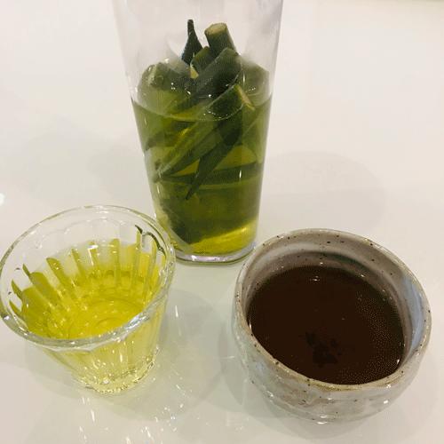 オクラ茶と万能茶