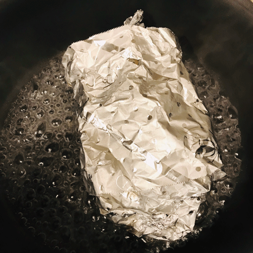 タラのホイル包み蒸し焼き4