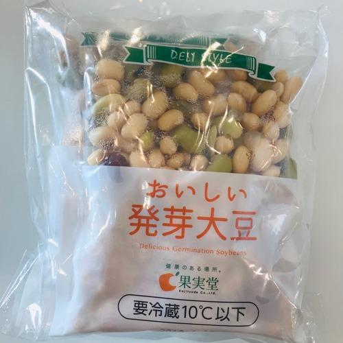 発芽茹で大豆