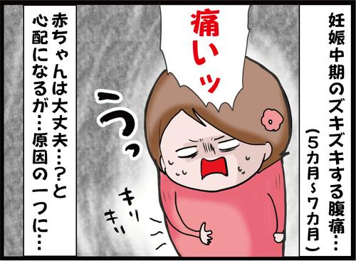 妊娠 中期 腹痛