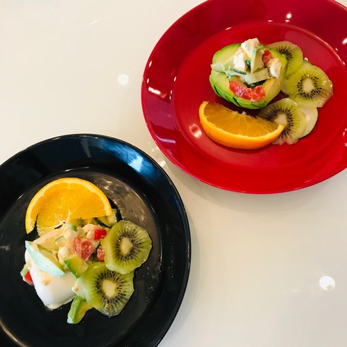 キウイアボカドサラダ