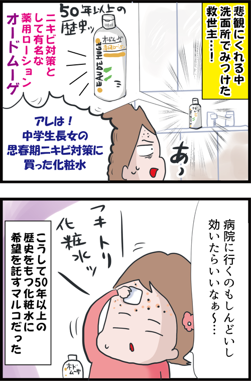 【妊娠3カ月】高齢妊婦が肌トラブル対策に使ったものは…(妻の高齢妊娠編⑪)2