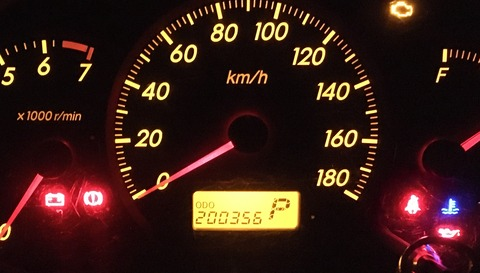 20万キロ超えた