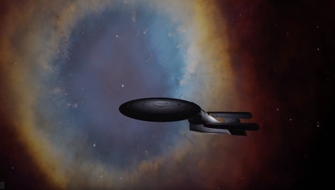 NGC7293 USS ENTERPISE