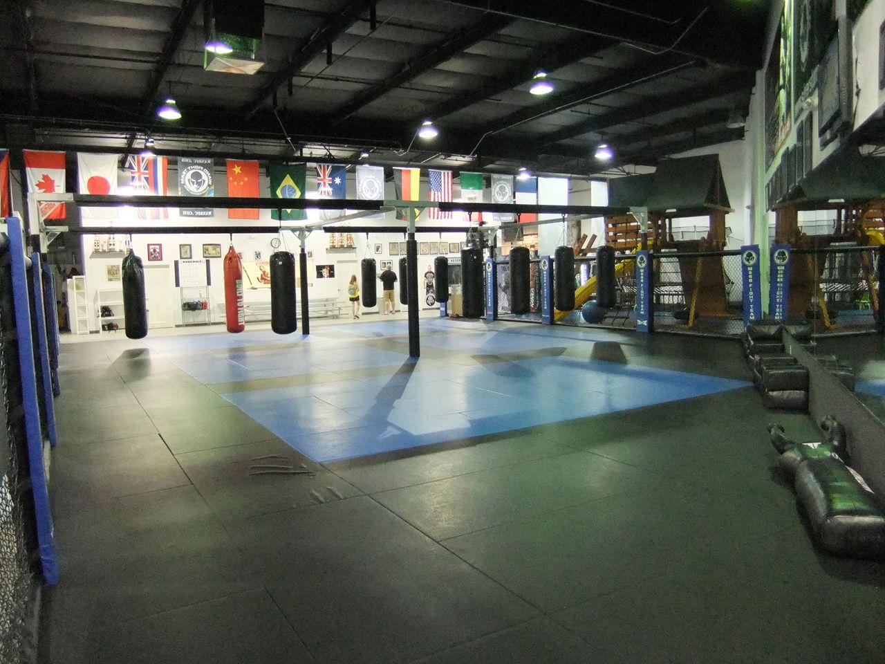 ヴァンダレイ・シウバのジム@ラスベガス Wanderlei Silva gym!! @Las V