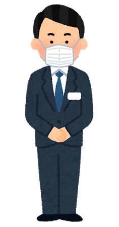 mask_stand_businessman