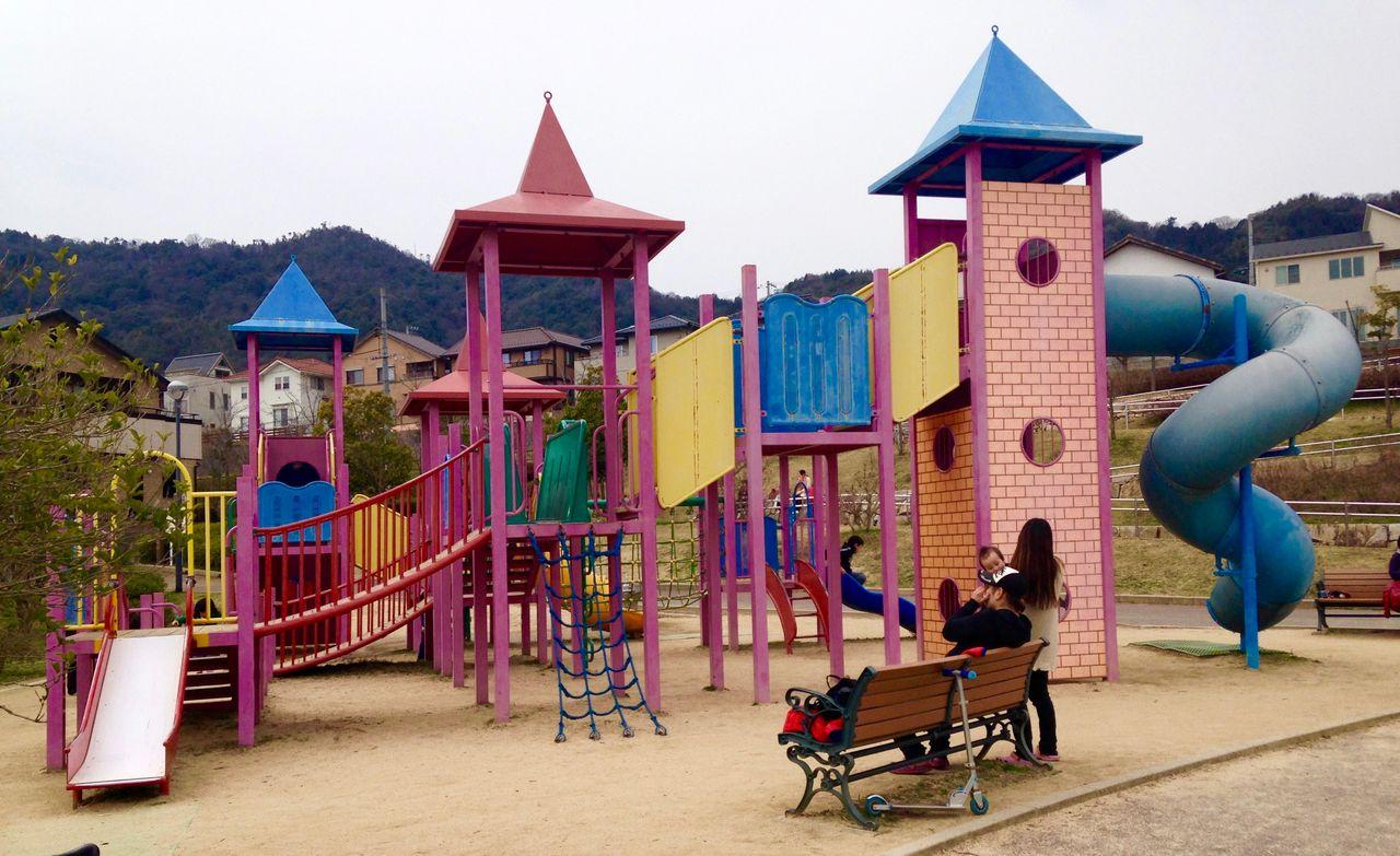 春日野中央公園(広島市安佐南区) : 子どもといっしょに何する ...