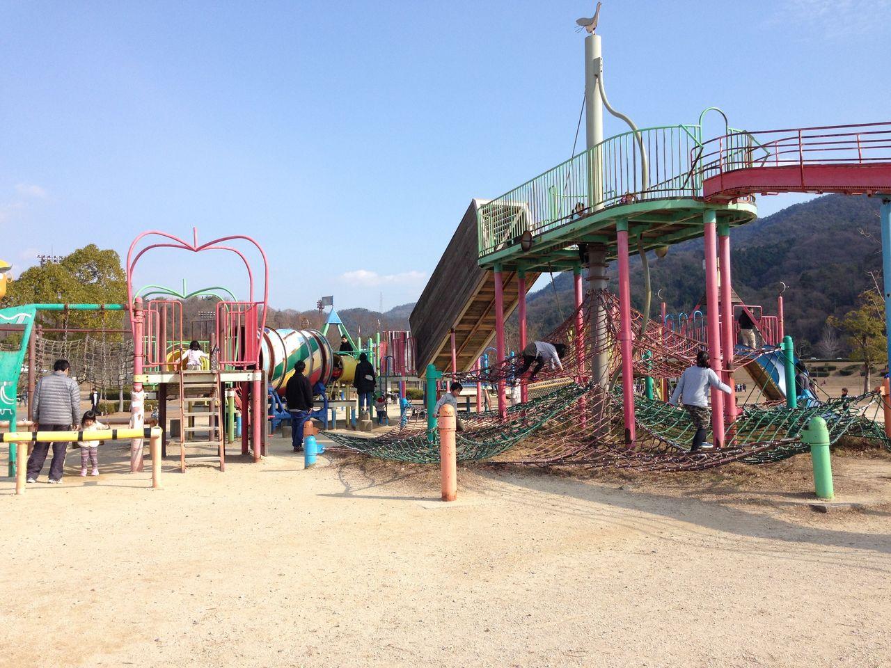 瀬野川公園(広島市安芸区) : 子どもといっしょに何する?@広島